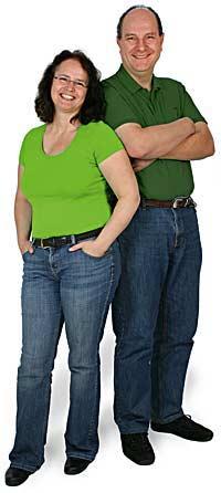 Die Inhaber von digiposter: Ewald und Susanne Dotzauer