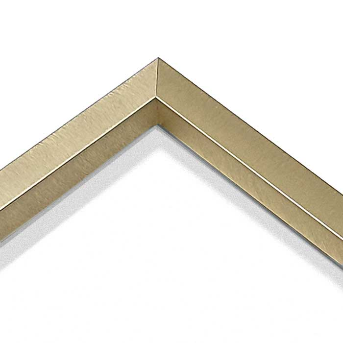 Nielsen Alpha 70 x 90, brushed gold