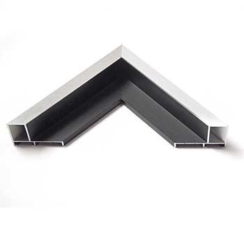 alu schattenfugenrahmen zweifarbig digiposter. Black Bedroom Furniture Sets. Home Design Ideas
